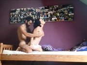 Private homemade video hot brunette doggystyle sex