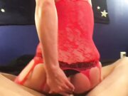 Husband licking wifes butt before fornicating her anal
